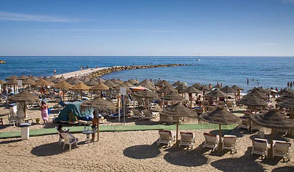 нудистский пляж марбелья