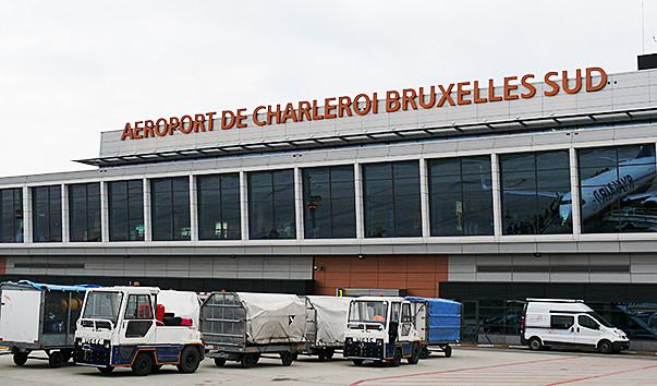 Brussels Airport Website Homepage
