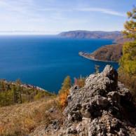 Байкал горы ущелья и пещеры